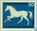 Postage Stamps - Germany, Federal Republic [DEU] - Horse