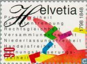 Postage Stamps - Switzerland [CHE] - Confederation 150 years