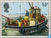 Postage Stamps - Great Britain [GBR] - Fisheries