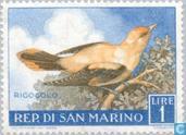 Postzegels - San Marino - Vogels