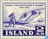 Briefmarken - Island - Postal 1776-1951