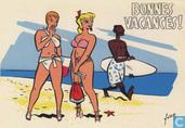 Ansichtskarten  - Chaland, Yves - Bonnes vacances!