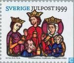 Timbres-poste - Suède [SWE] - multicolor Julpost