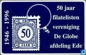 De Globe, afd. Ede, 50 jaar filatelisten ver.