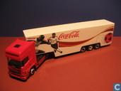 Model cars - Herpa - Scania 164L Coca-Cola