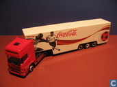 Voitures miniatures - Herpa - Scania 164L Coca-Cola
