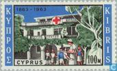 Postage Stamps - Cyprus [CYP] - 100 years of Red Cross