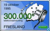 Friesland 300.000e telefoonaansluiting