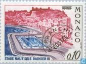 Briefmarken - Monaco - Rainier Swim Stadium II