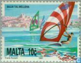 Château de Melieha et surf