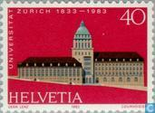 Postage Stamps - Switzerland [CHE] - University of Zurich