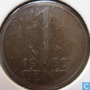Coins - the Netherlands - Netherlands 1 cent 1953