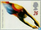 Postage Stamps - Great Britain [GBR] - Olympic Games- Atlanta