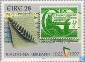 Postzegels - Ierland - Republiek 75 jaar