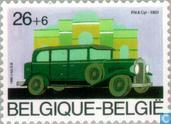 Postage Stamps - Belgium [BEL] - Ancient Belgian cars