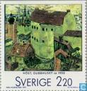 Postage Stamps - Sweden [SWE] - Swedish art from Paris