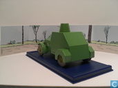 """Model cars - Atlas - De gepantserde mitrailleursauto uit """"De Blauwe Lotus"""""""
