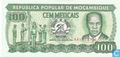 Billets de banque - República Popular de Moçambique - Mozambique 100 meticais