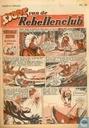 Strips - Sjors van de Rebellenclub (tijdschrift) - 1957 nummer  25