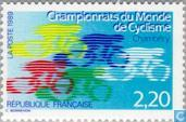 Postage Stamps - France [FRA] - World Championships cycling