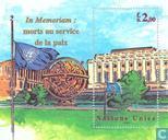 Postzegels - Verenigde Naties - Genève - Dag-Hammerskjöld medaille