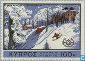 Postage Stamps - Cyprus [CYP] - Int. Year of Tourism