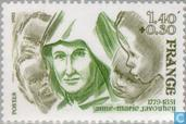 Timbres-poste - France [FRA] - Javouhey, Anne-Marie