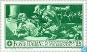 Postzegels - Italië [ITA] - Francesco Ferrucci