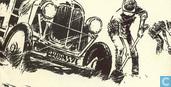 Cartes postales - Follet, René - De auto's van het avontuur