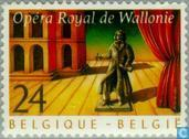 Postage Stamps - Belgium [BEL] - 20 years Royal Walloon Opera