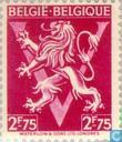 """Postzegels - België [BEL] - Heraldische leeuw op V, """"BELGIË BELGIQUE"""""""