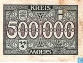 Billets de banque - Moers - Kreis - Moers Mark 500.000