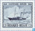 Postage Stamps - Belgium [BEL] - Ferry Service Ostend-Dover