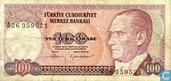 Turquie 100 Lirasi