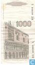 Bankbiljetten - Banca d´Italia - Italië 1000 Lire
