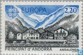 Briefmarken - Andorra - Französisch - Europa – Naturschutz