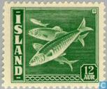 Briefmarken - Island - Fish