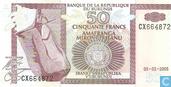 50 Burundi francs