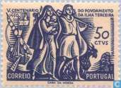 Postage Stamps - Portugal [PRT] - Colonization Terceira 1451-1951