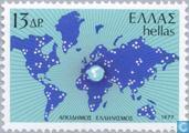 Postzegels - Griekenland - Grieken in het buitenland