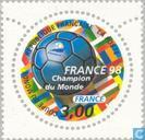 Postage Stamps - France [FRA] - World Cup Soccer
