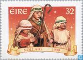 Briefmarken - Irland - Biblische Szenen