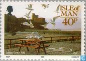 Postage Stamps - Man - Photos