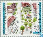 Postage Stamps - Switzerland [CHE] - Images city 100 years