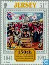 Postage Stamps - Jersey - Victoria Harbour 150 years