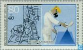 Timbres-poste - Berlin - Artisans
