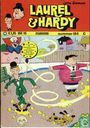 Strips - Laurel en Hardy - zeepschaatsen