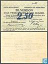 Bankbiljetten - Zilverbon Nederland - 2,5 gulden Nederland 1914