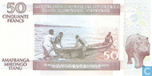 Billets de banque - Burundi - 1993-2007 Issue - Burundi 50 Francs 2005