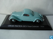 Model cars - Norev - Citroën Traction 22CV Faux-Cabriolet